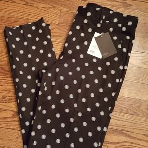 NWT ASOS Blurred Polka Dot Dress Pants